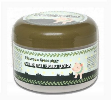 Маска гелевая коллагеновая ELIZAVECCA Green Piggy Collagen Jella Pack: фото